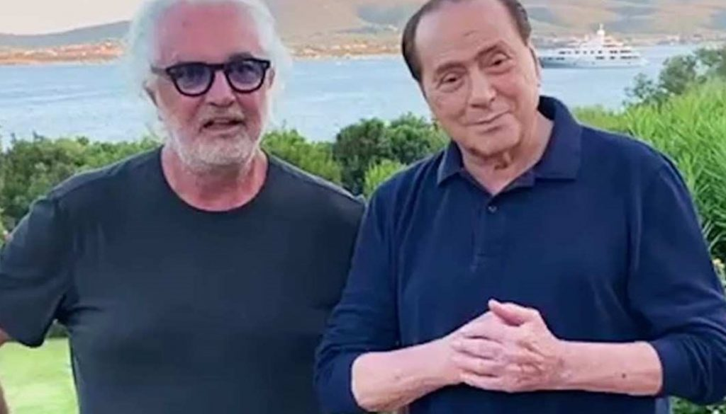 Flavio Briatore e Silvio Berlusconi insieme su Instagram: pioggia di commenti