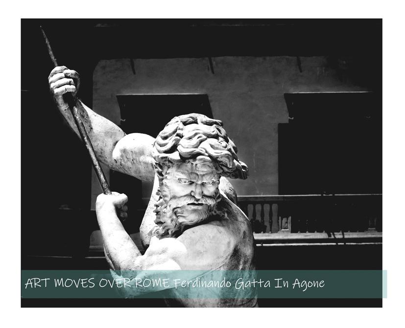Art Moves Over Rome Ferdinando Gatta
