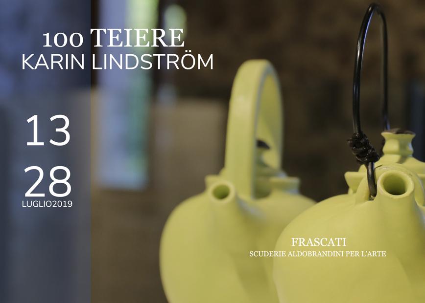 100 TEIERE Karin Lindström. La personale in Anteprima Nazionale