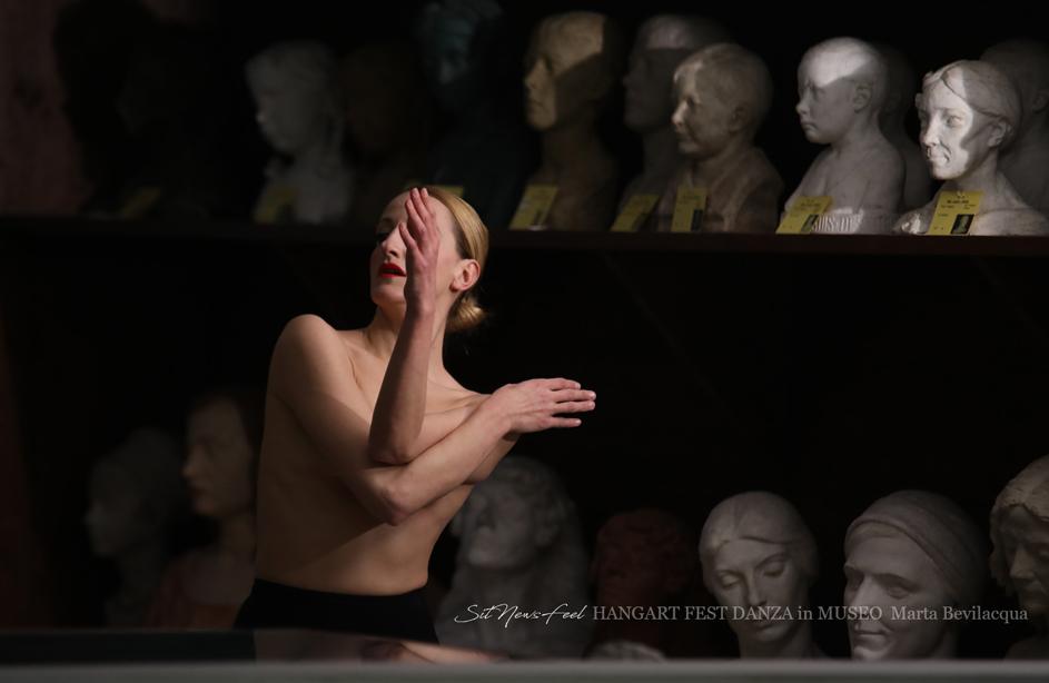 MUSEO in DANZA HANGART FEST il Tableau vivant della Bevilacqua