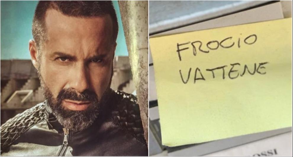 Luca Tommassini, scritta choc sul citofono: «Frocio vattene». Il coreografo rivela: «Mio padre picchiava mamma, le diceva: