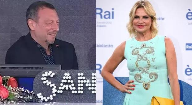 Simona Ventura positiva al Covid, l'annuncio di Amadeus: «Domani non sarà a Sanremo»