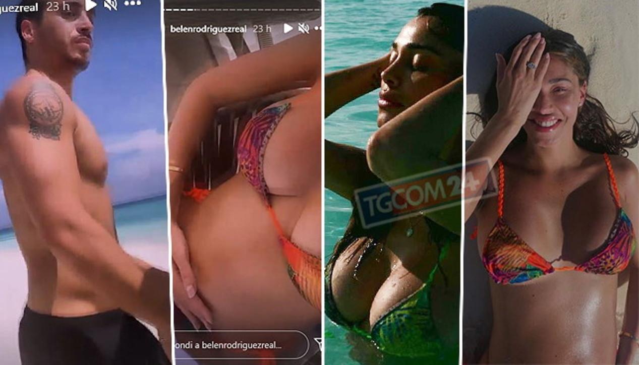 Belen(eide), ecco le nuove foto bollenti dalle Maldive con Spinalbese