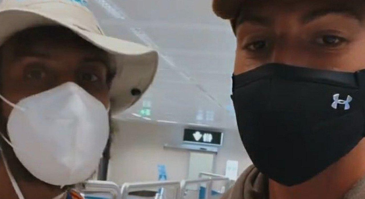Ignazio Moser, Awed e Cerioli arrivano in Italia. Ma in aeroporto la brutta notizia: «Non è possibile...»