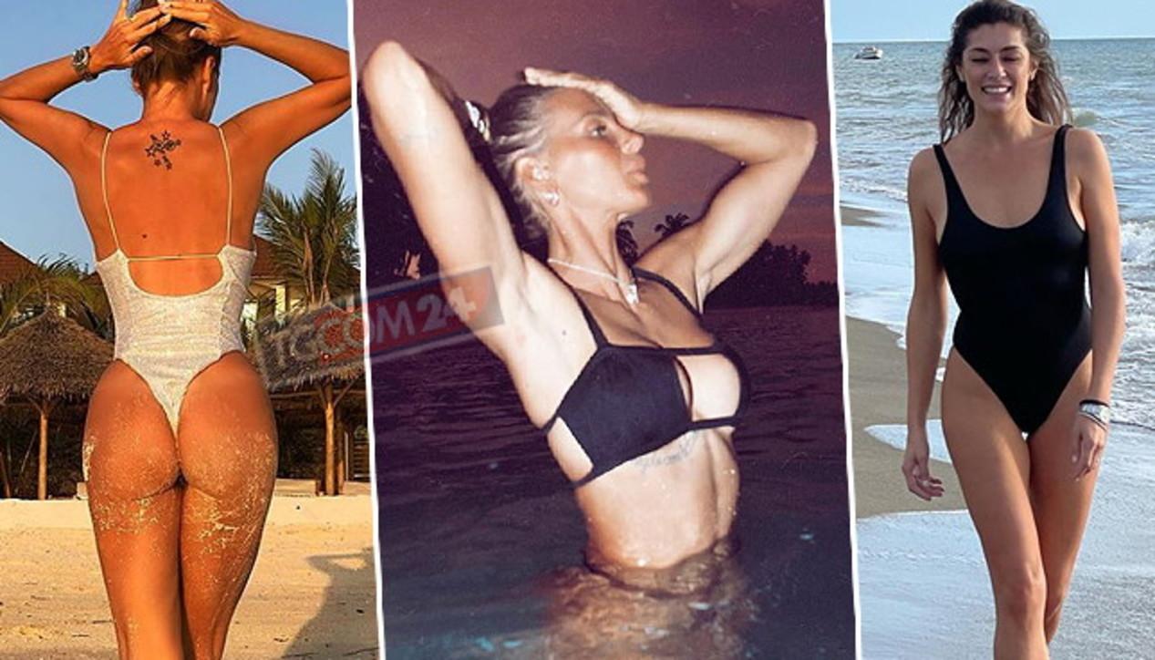 Al mare in ottobre, guarda quante vip ancora in bikini