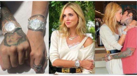 Chiara Ferragni e Fedez, la coppia ostenta orologi da 70mila euro