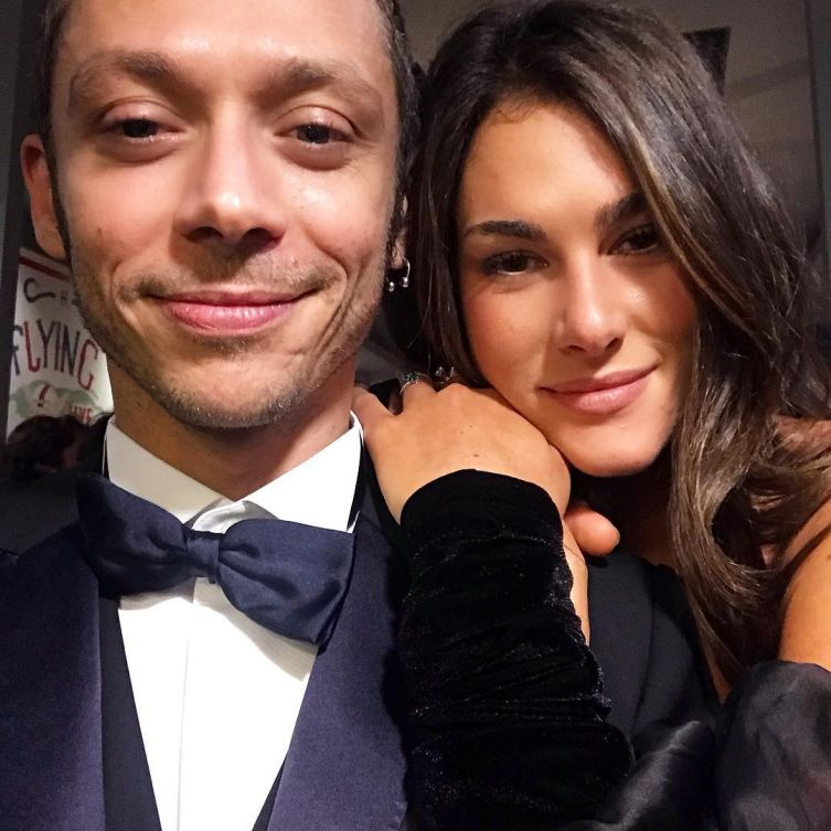 Valentino Rossi, dedica social della fidanzata