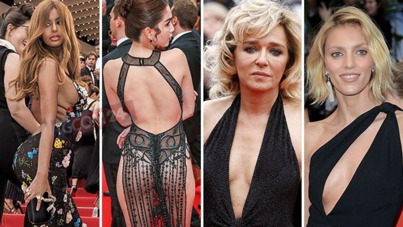 Cannes 2019: red carpet quasi a luci rosse, tra scollature ardite e trasparenze hot