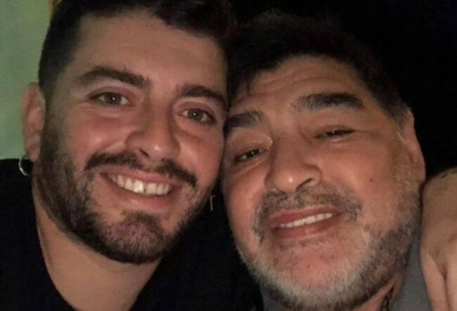 Maradona, il ricordo del figlio Diego Jr: la foto con il nipotino è commovente