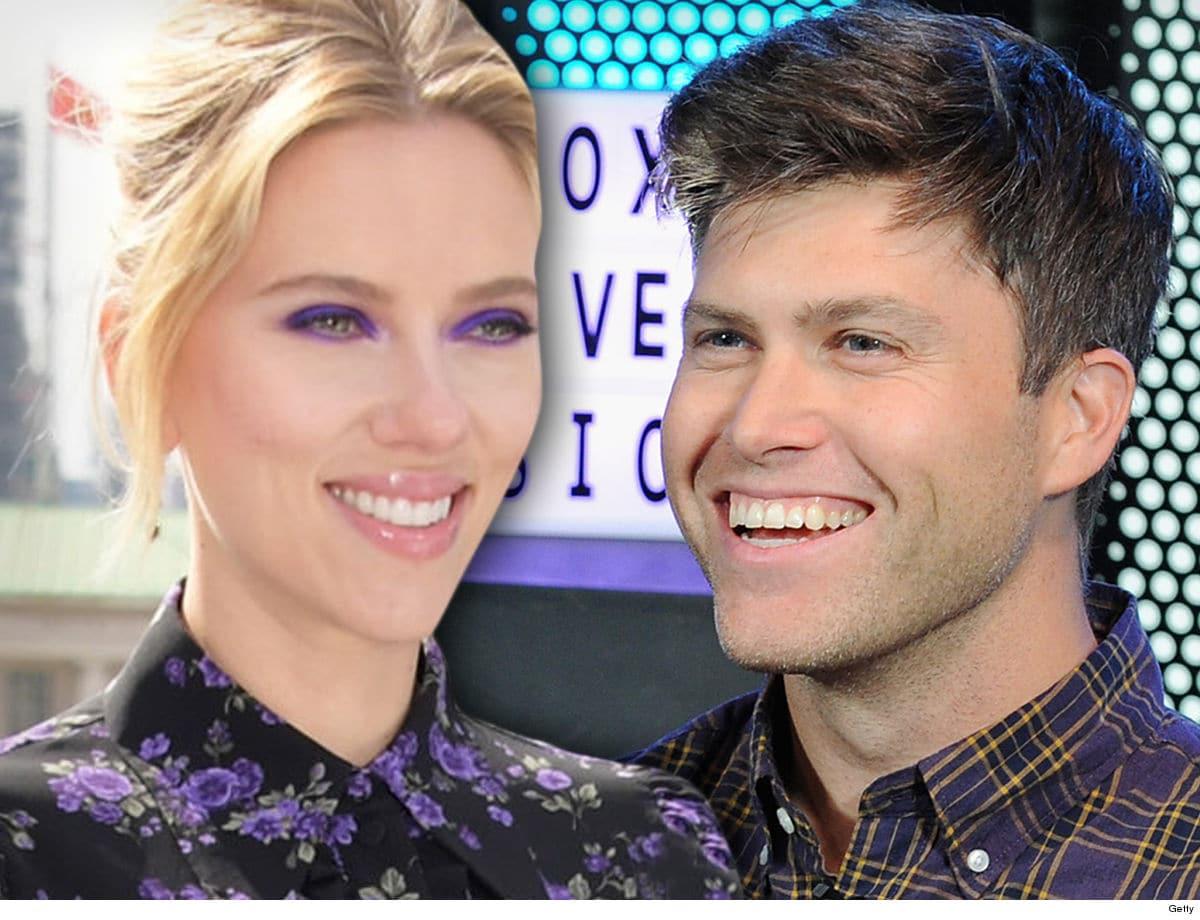 Scarlett Johansson si (ri)sposa: ha detto sì al compagno Colin Jost