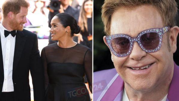 Elton John difende Harry e Meghan: