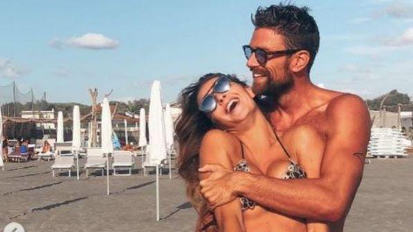 Dopo la schermitrice, Luca Dotto in love con la modella di intimo