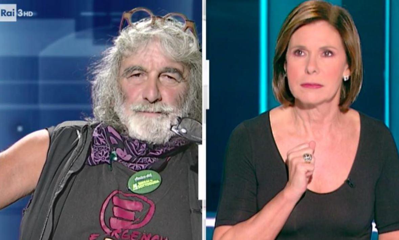 Mauro Corona insulta in diretta tv Bianca Berlinguer lei reagisce così
