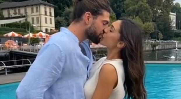 Ignazio Moser e Cecilia Rodriguez, bacio infuocato sul lago di Como: torna l'amore, fan impazziti