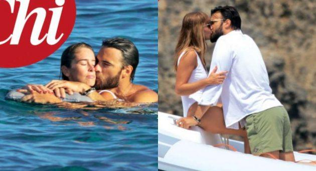 Maria Elena Boschi travolta dalla passione al mare per il compleanno di Berruti