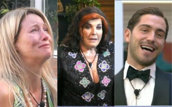 Gf Vip nel caos: Patrizia De Blanck si spoglia, Flavia Vento va via, Zorzi rientra