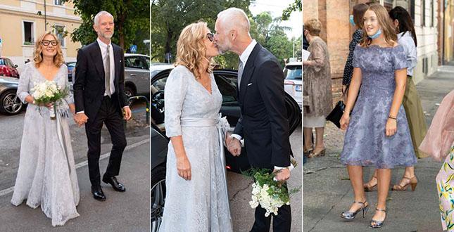 Nicoletta Mantovani ha sposato Alberto, ecco le foto del sì romantico