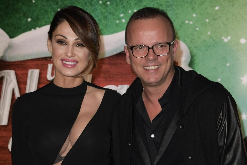 Anna Tatangelo e Gigi D'Alessio in festa per la comunione di Andrea