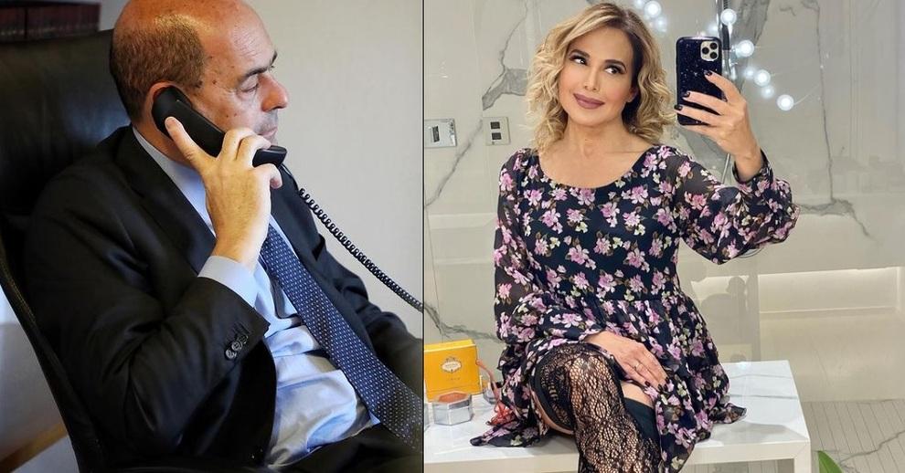 Nicola Zingaretti a Live non è la D'Urso:«Renzi, la porta è aperta ma...», poi l'annuncio: «Lunedì vaccineremo Sami Modiano»