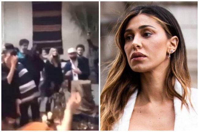 """Belen alla festa senza mascherina: follie a Milano prima del ritorno all'""""arancione"""". La showgirl nella bufera"""