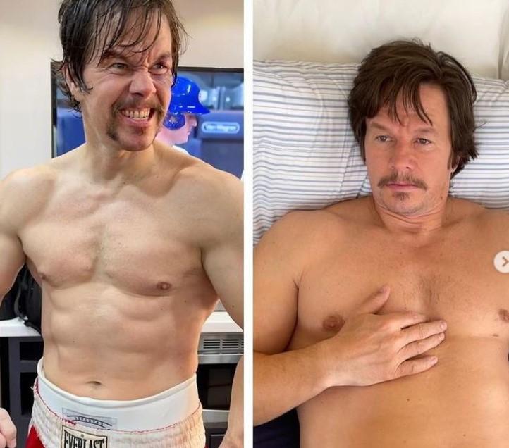 Mark Wahlberg, 10 kg in più in 3 settimane: la trasformazione è incredibile