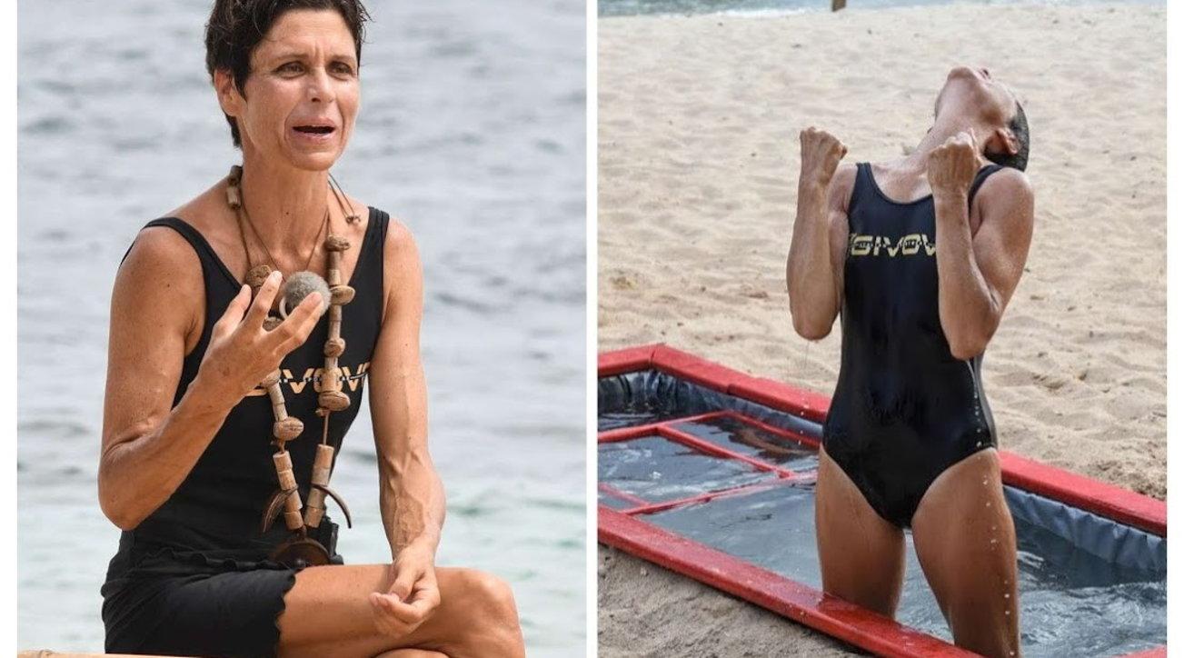 """""""Isola dei famosi"""", Isolde Kostner nuova leader: campionessa anche nelle prove resistenza"""