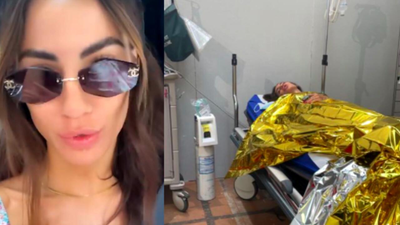 Giulia De Lellis, la foto in barella: «Che ansia per il vaccino»