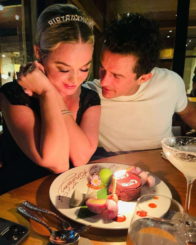 La dolce dedica di Orlando Bloom a Katy Perry per il compleanno: