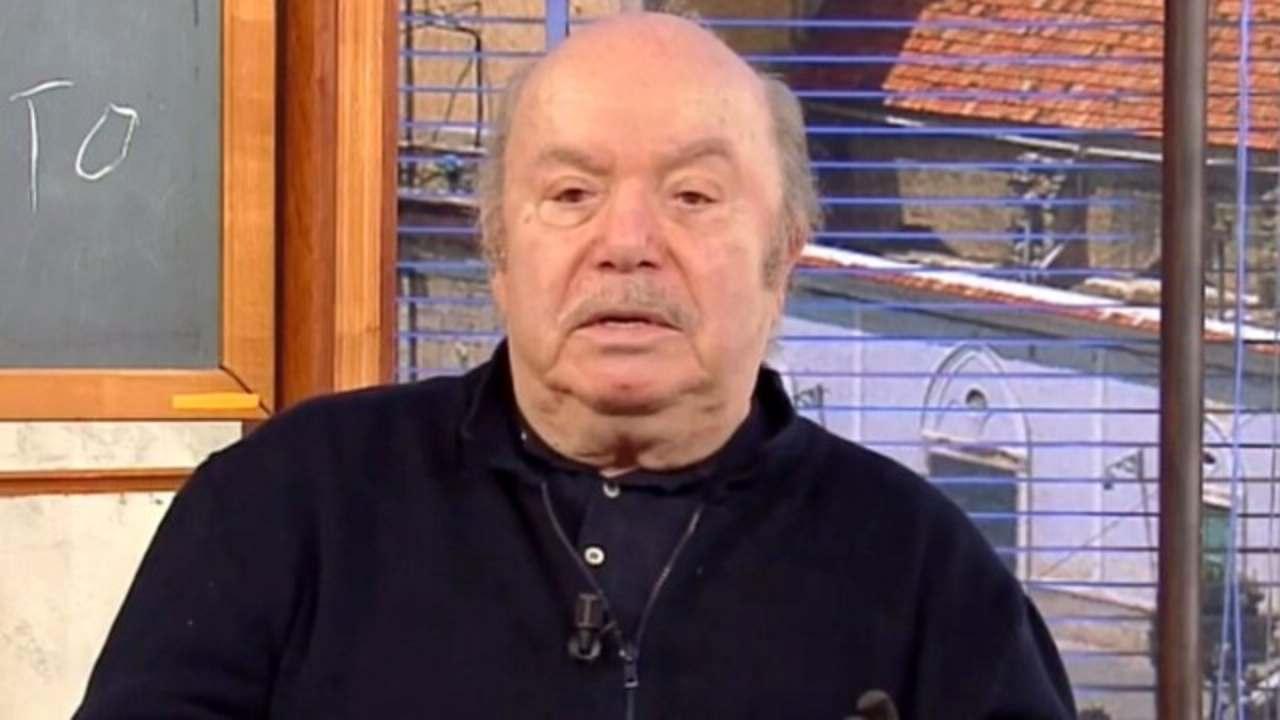 Verissimo, Lino Banfi in lacrime per la moglie: «Ha chiesto di morire insieme»