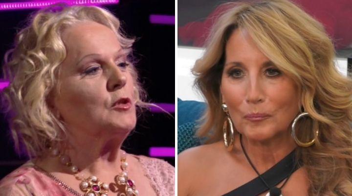 GF Vip, Katia Ricciarelli furiosa con Jo Squillo: «Ora basta o compio un omicidio»