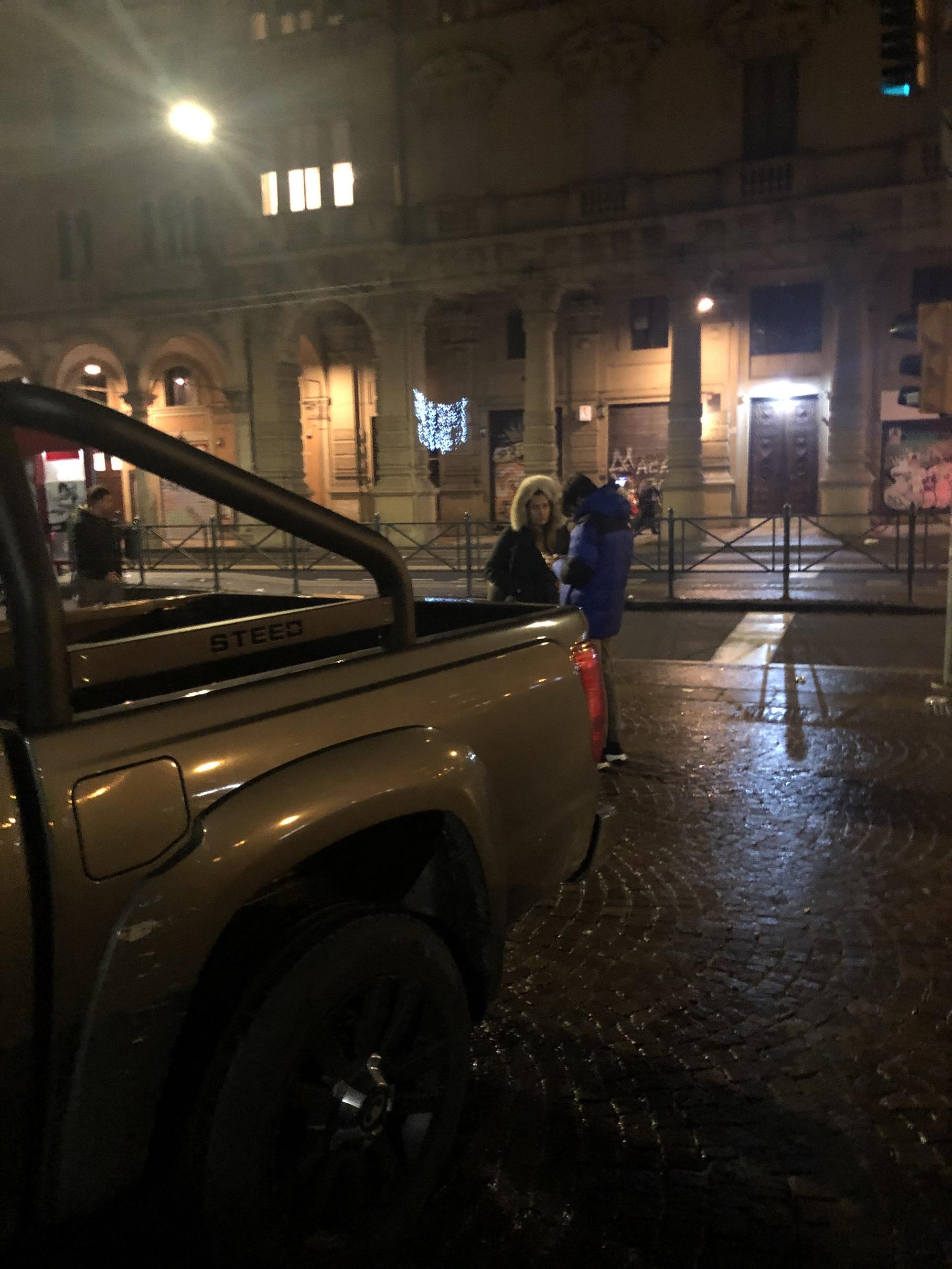 #testroad  Una gita a Bologna 'la Dotta' e 'la Grassa' in autunno ci sta anche con il pick-up