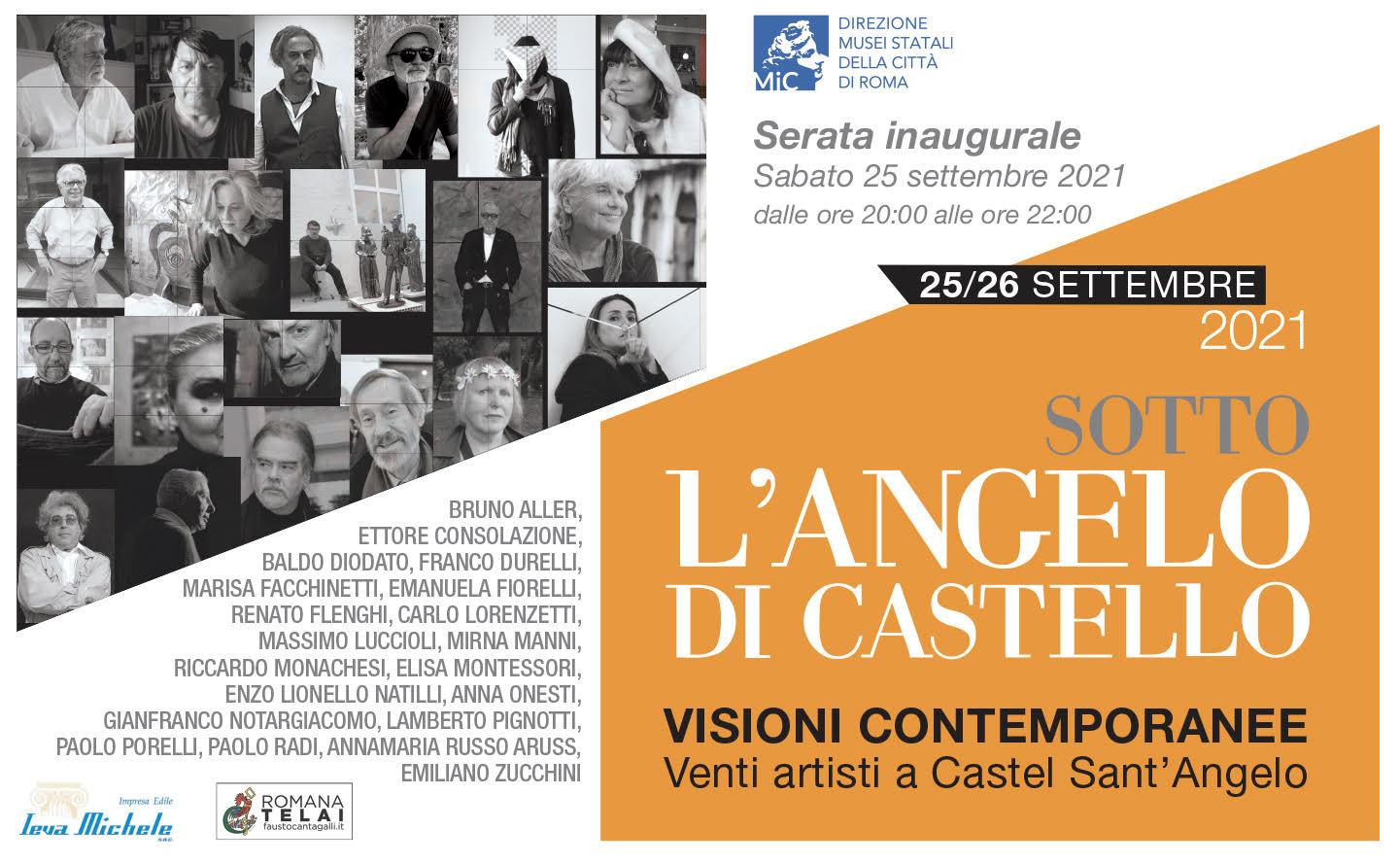 Visioni contemporanee a Castel Sant'Angelo