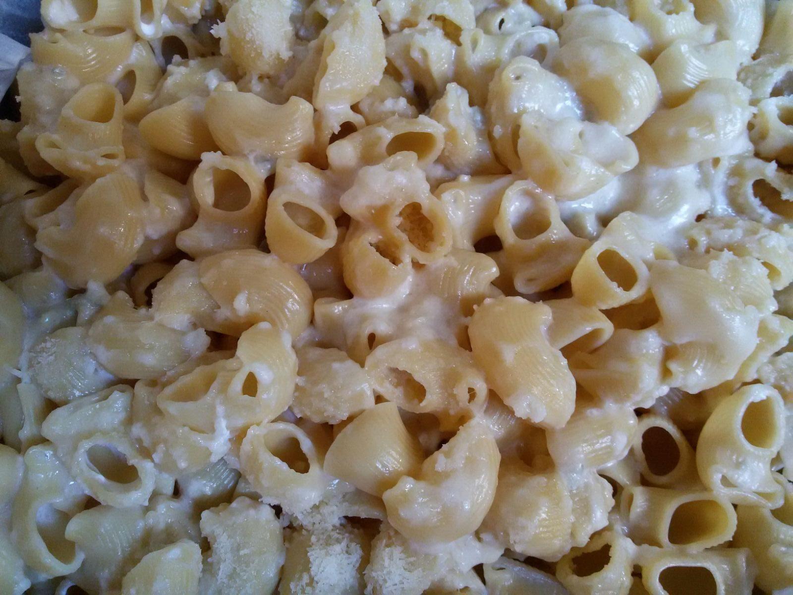 Pipe al gorgonzola e panna