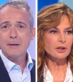 """Io e Te, Pierluigi Diaco interrompe Giuliana De Sio: """"Siamo su Rai1"""""""