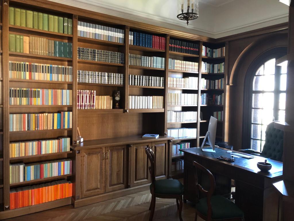 Libreria A Porta Di Roma librerie su misura roma-solide - librerie su misura roma