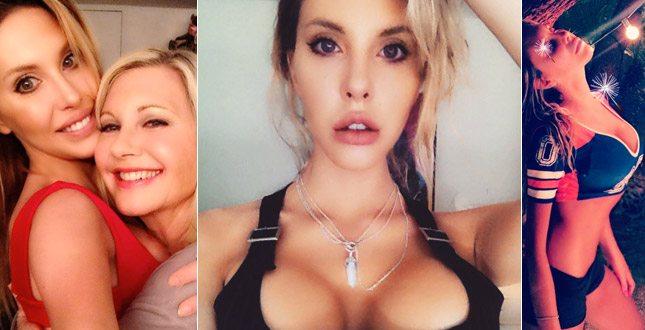 Chloe Lattanzi, figlia di Olivia Newton John: