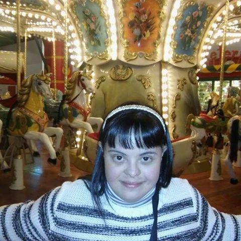 Noelia, la maestra con la sindrome di Down: