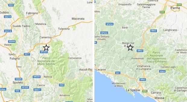Terremoto, la terra trema ancora in Centro Italia. Scosse anche tra Emilia-Romagna, Toscana e Liguria