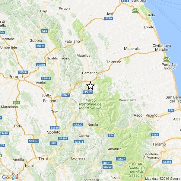 Terremoto in Centro Italia, Ingv: 20 nuove lievi scosse nella notte