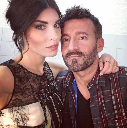 Max Biaggi e Bianca Atzei a Milano: ecco la famiglia allargata