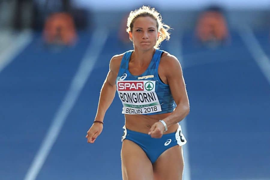 Anna Bongiorni in semifinale: la dottoressa che corre più del vento