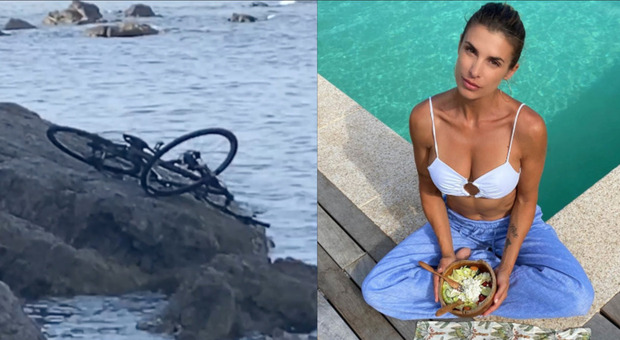 Elisabetta Canalis colpita dai vandali nella sua Sardegna, la bici vola sulle rocce: «Sono sempre ubriachi». Cosa è successo
