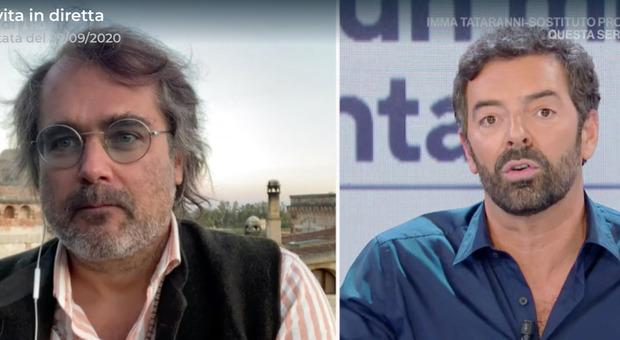 Alberto Matano, Yari Carrisi a Vita in Diretta: «La canzone
