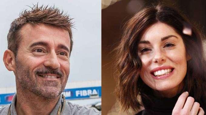"""Max Biaggi e Bianca Atzei, carezze """"segrete"""" durante """"Tale e quale Show"""""""
