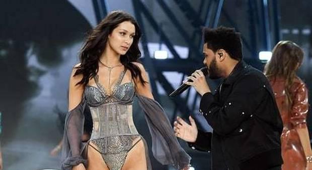 Bella Hadid, incontro con l'ex sulla passerella di Victoria's Secret