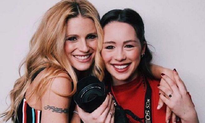 Michelle Hunziker, Eros Ramazzotti e le dediche social per i vent'anni di Aurora