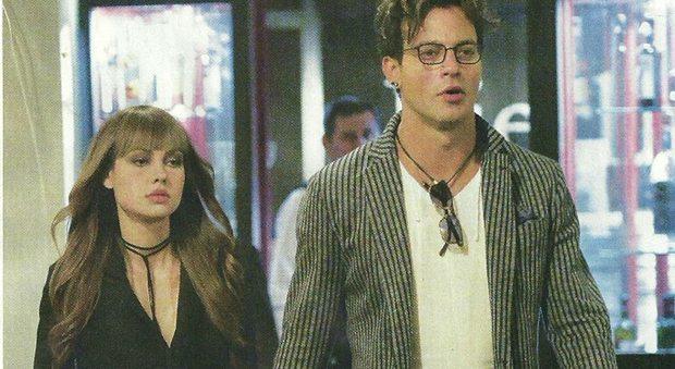 Gabriel Garko dopo le critiche dell'ex, felice con la fidanzata Adua Del Vesco