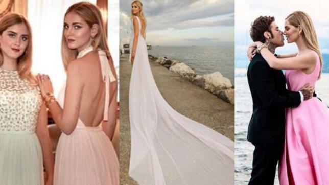 Il vestito da sposa di Chiara Ferragni