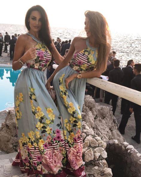 Donatella Buccino a nozze, Cristina e Maria Teresa belle damigelle