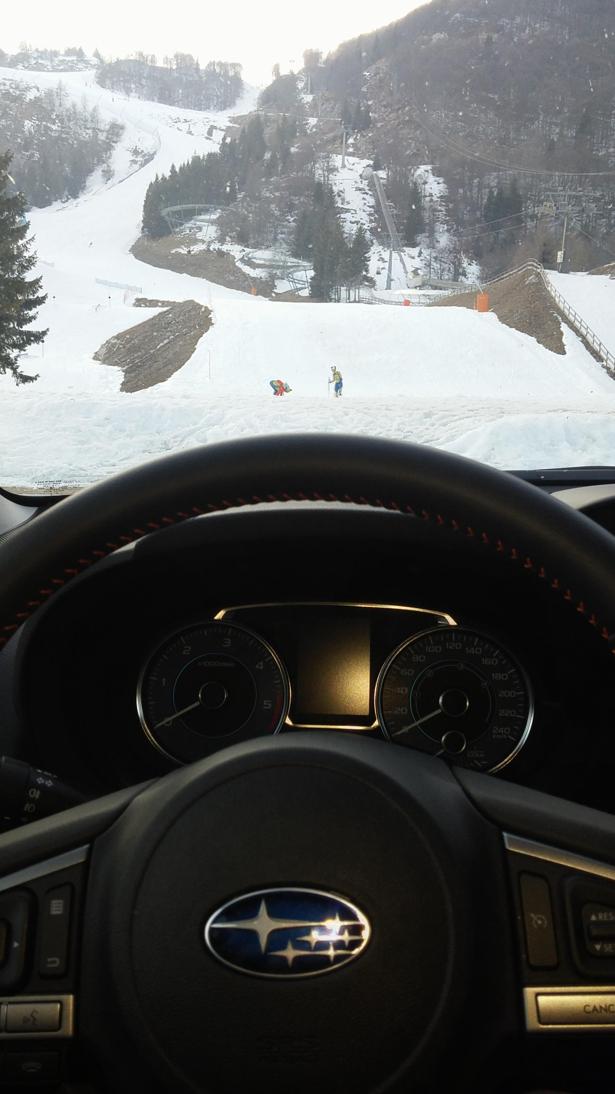 #Subaru XV: cerchiamo il fuoristrada e troviamo la neve #testdrive